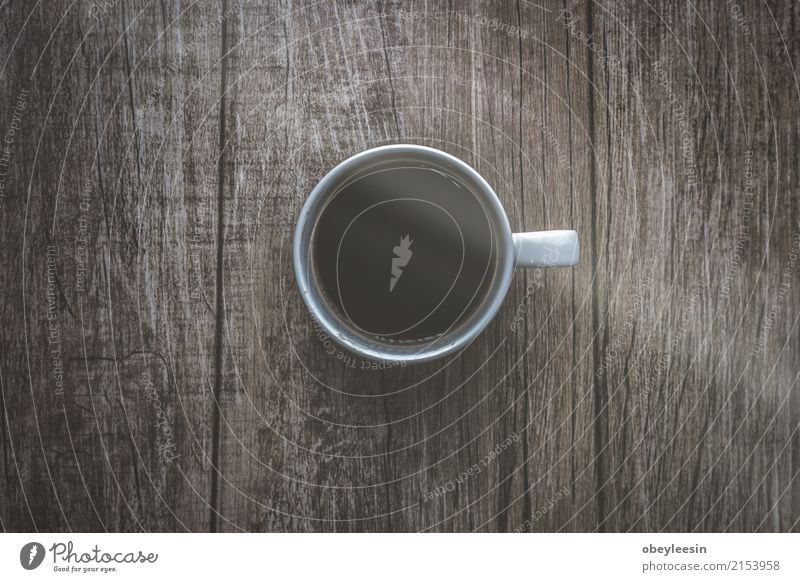 Cup of coffee for morning, Colour White Dish Lanes & trails Gray Brown Above Design Bright Fresh Vantage point Clean Beverage Coffee Hot Breakfast