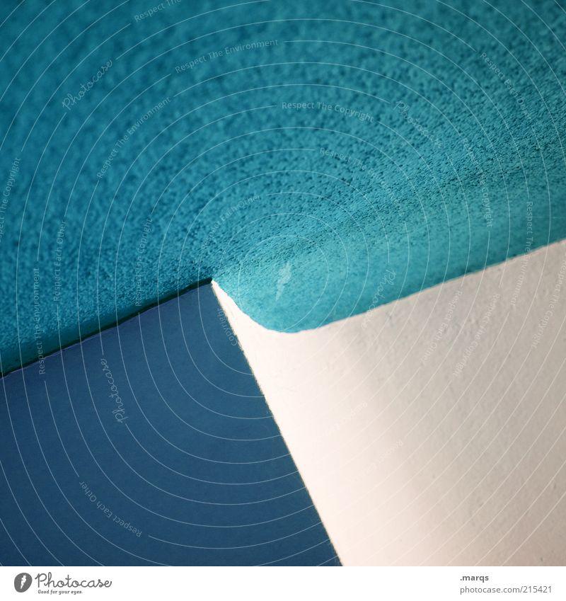 White Blue Colour Style Line Architecture Design Elegant Lifestyle Arrangement Esthetic Cool (slang) Round Simple Interior design Abstract