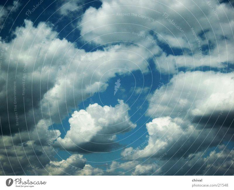 clouds Clouds White Cumulus Sky Sun Blue