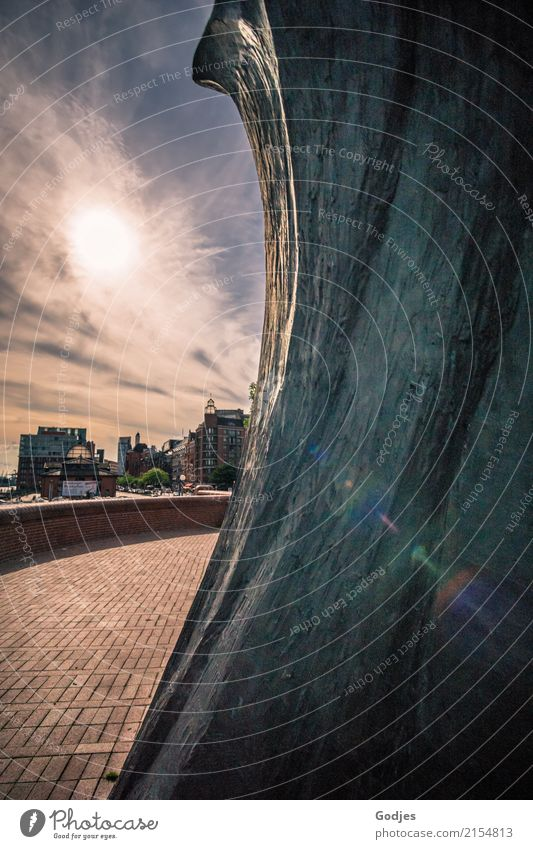 Architecture Life Art Culture Adventure Hamburg Hope Discover Manmade structures Tourist Attraction Longing Harbour Capital city Downtown Wanderlust Brave
