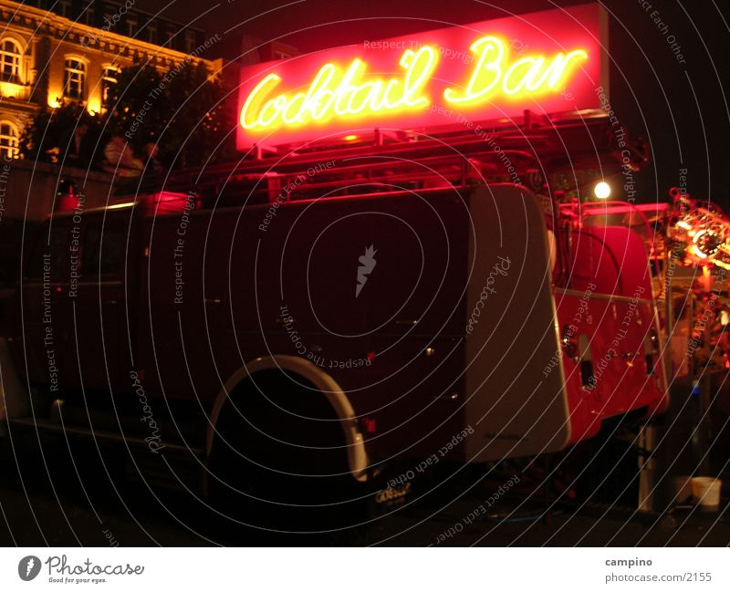 Beverage Bar Event Fairs & Carnivals Alcoholic drinks Duesseldorf Neon sign