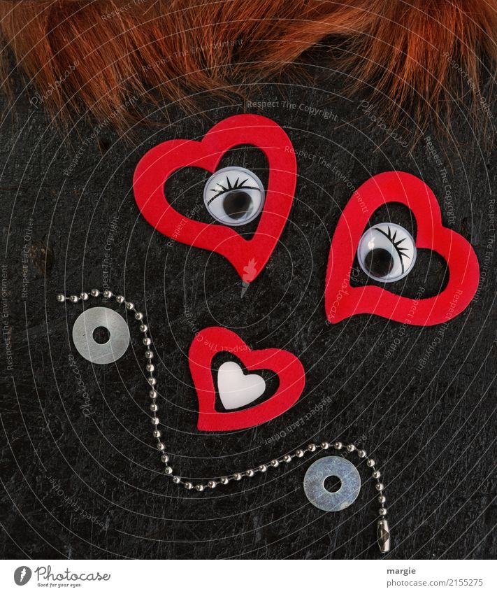 Woman Human being Red Eroticism Face Eyes Adults Love Feminine Art Hair and hairstyles Brown Smiling Heart Circle Lips