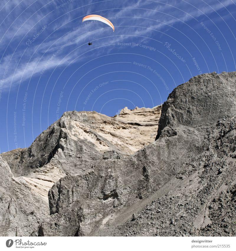 dragon rocks Leisure and hobbies Hang gliding Paragliding Paraglider Parachute Kiter Sky Mountain Peak Cliff Flying Free Freedom Drift Lønstrup Denmark