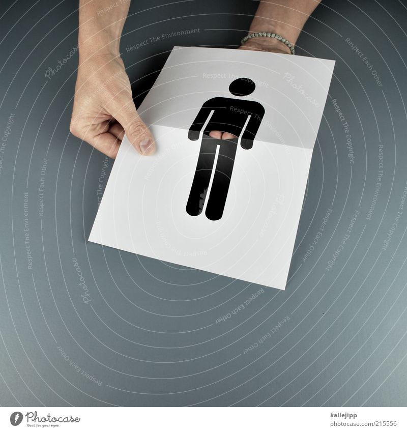 Human being Hand Joy Masculine Fingers Lifestyle Paper Bottom Profession Humor Craftsperson Deception Chest Trick Pictogram Low neckline