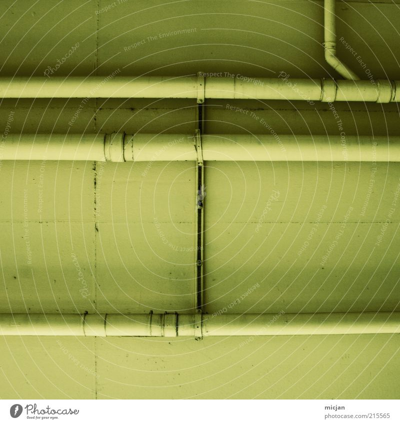 Green Yellow Wall (building) Wall (barrier) Building Line Metal Network Connection Pipe Ceiling Transmission lines Parallel Installations Water pipe Unicoloured
