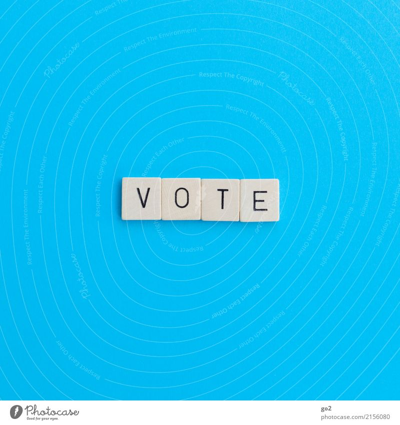 Blue Playing Characters Communicate Perspective Future Select Society Politics and state Elections Competition Democratic Democracy Election campaign