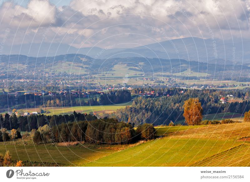 Village on hills of tatra mountain range a royalty free stock village on hills of tatra mountain range a royalty free stock photo from photocase sciox Gallery