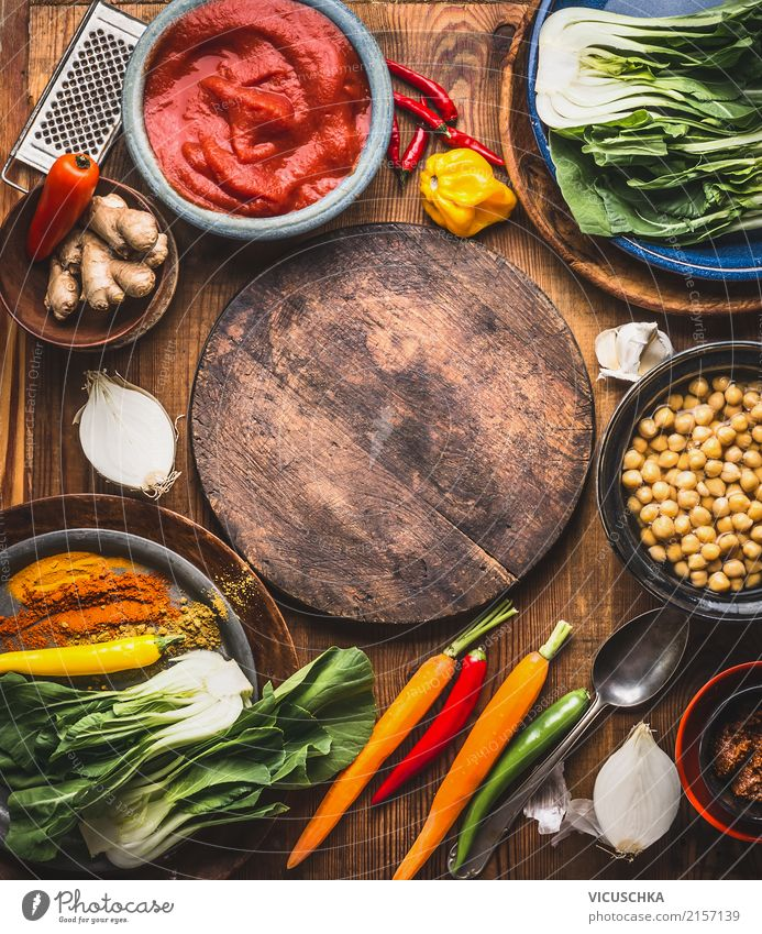 Healthy Eating Yellow Background picture Style Food Design Nutrition Table Herbs and spices Kitchen Vegetable Restaurant Organic produce Crockery Bowl Dinner