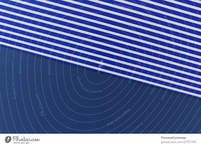 Blue Colour White Design Line Creativity Paper Geometry Striped Cardboard Stationery Rectangle Blue-white