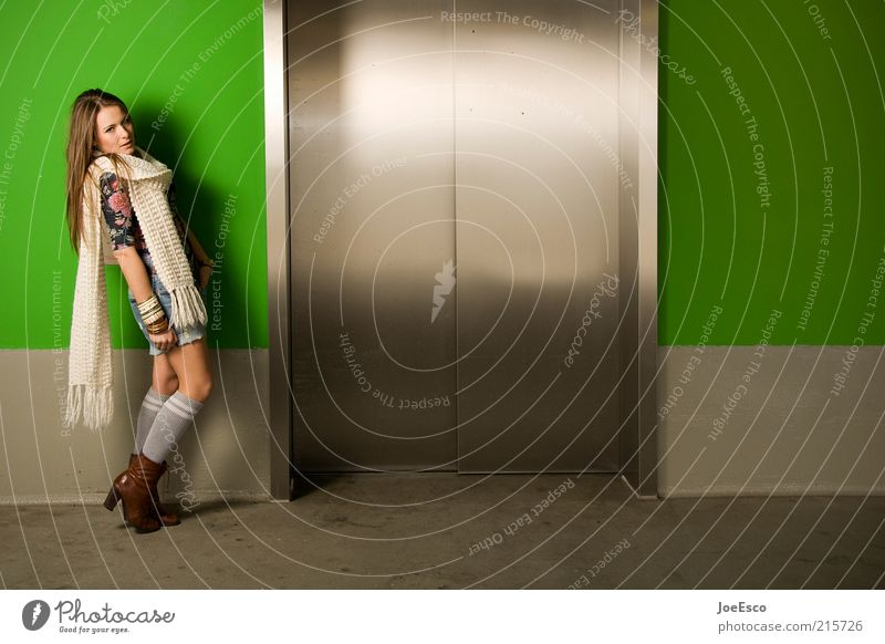 Woman Human being Green Beautiful Joy Adults Relaxation Feminine Life Style Dream Fashion Door Power Wait