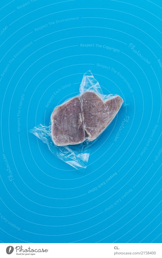 Blue Cold Food Nutrition Shopping Simple Fish Delicious Packaging Fishery Plastic packaging Supermarket Fish market Frozen foods