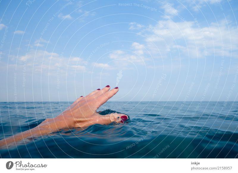 1 Joy Beautiful Nail polish Harmonious Well-being Senses Relaxation Calm Swimming & Bathing Vacation & Travel Tourism Summer Summer vacation Ocean Hand