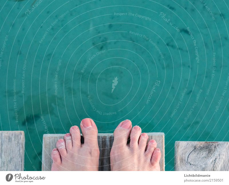 Jump in the deep end Lifestyle Joy Happy Beautiful Pedicure Wellness Harmonious Well-being Leisure and hobbies Vacation & Travel Adventure Freedom Summer