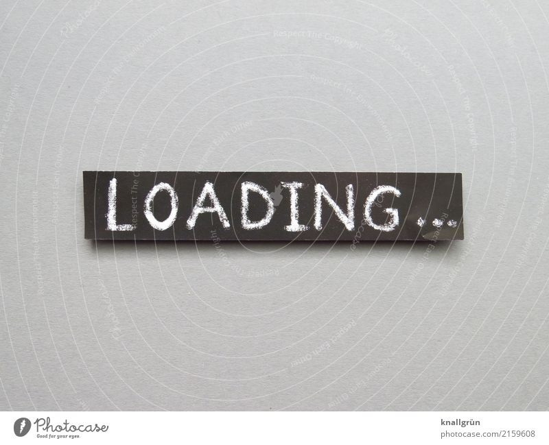 loading Characters Signs and labeling Communicate Sharp-edged Gray Black White Patient Endurance Curiosity Expectation Frustration Speed Time Computer