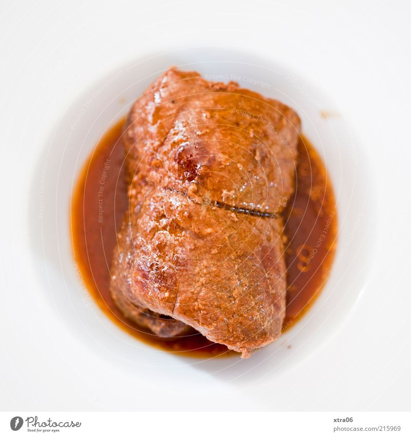 White Nutrition Brown Food Dish Delicious Fat Plate Meat Banquet Dinner Lunch Crockery Sauce Food photograph Beef olive