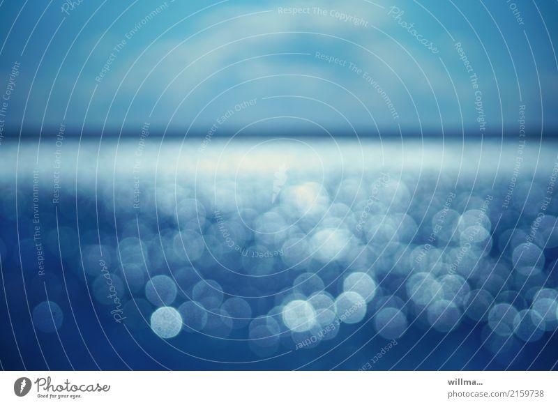 Blue Ocean Lake Horizon Baltic Sea Turquoise North Sea Eye test