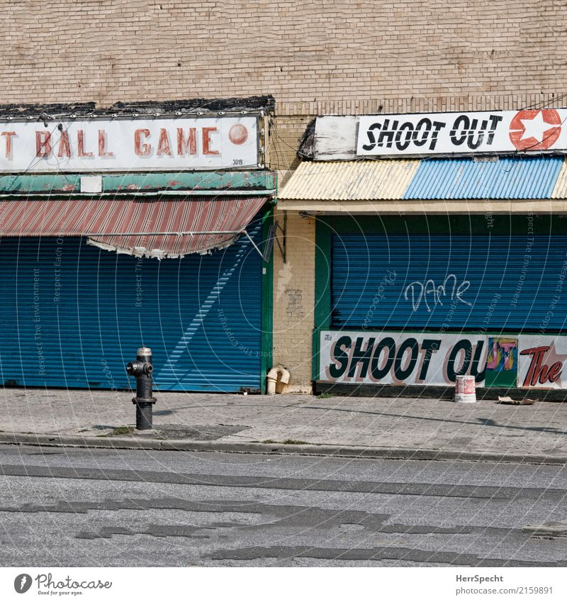 Ball Game Shoot Out Leisure and hobbies Tourism Trip City trip Entertainment Fairs & Carnivals New York City Brooklyn Coney Island Outskirts