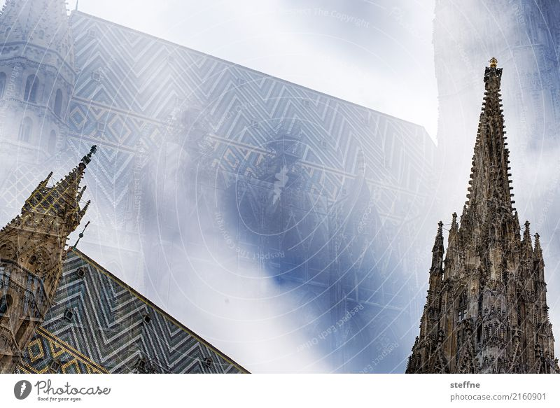 Around the World: Vienna Travel photography Tourism Vacation & Travel Round trip around the world steffne St. Stephen's Cathedral Double exposure