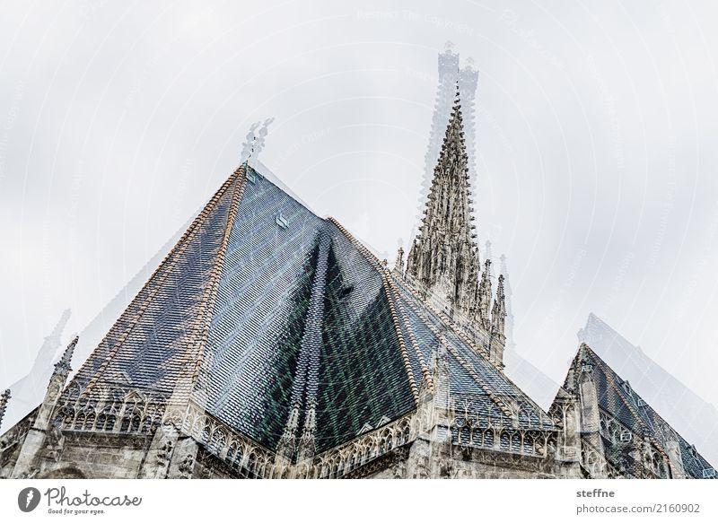 Religion and faith Church Double exposure Dome Austria Vienna