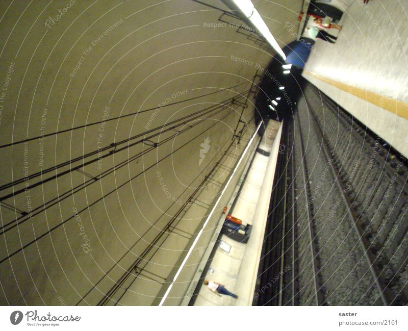 Architecture Railroad tracks Underground Rome Italy
