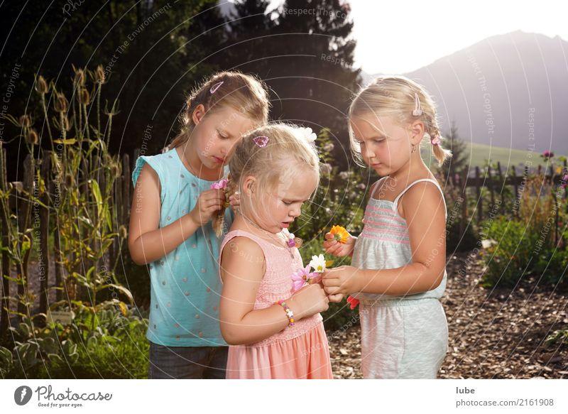Child Nature Plant Summer Beautiful Flower Girl Environment Spring Happy Garden