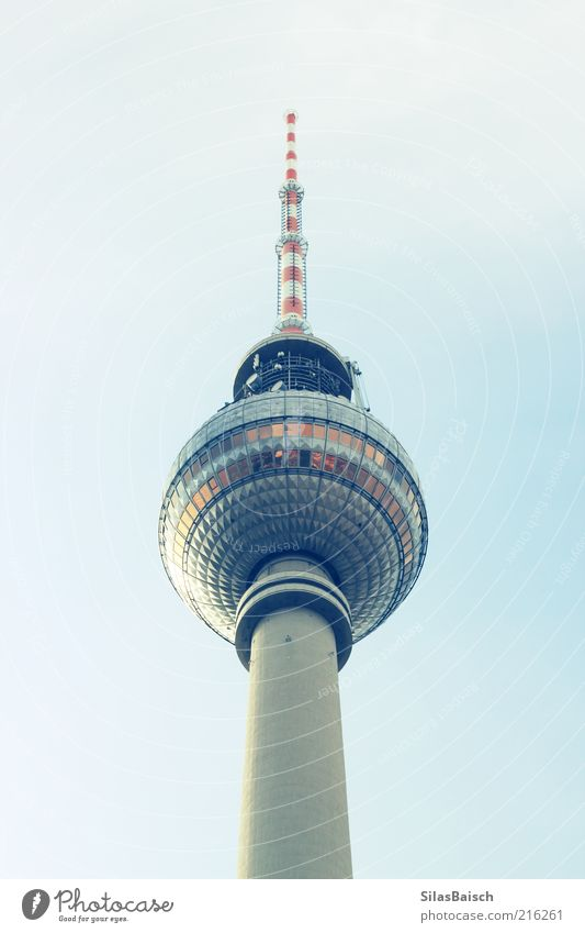 Vacation & Travel Above Architecture Glass Trip Tall Large Tourism Tower Sphere Downtown Sightseeing Capital city Tourist Attraction Berlin TV Tower