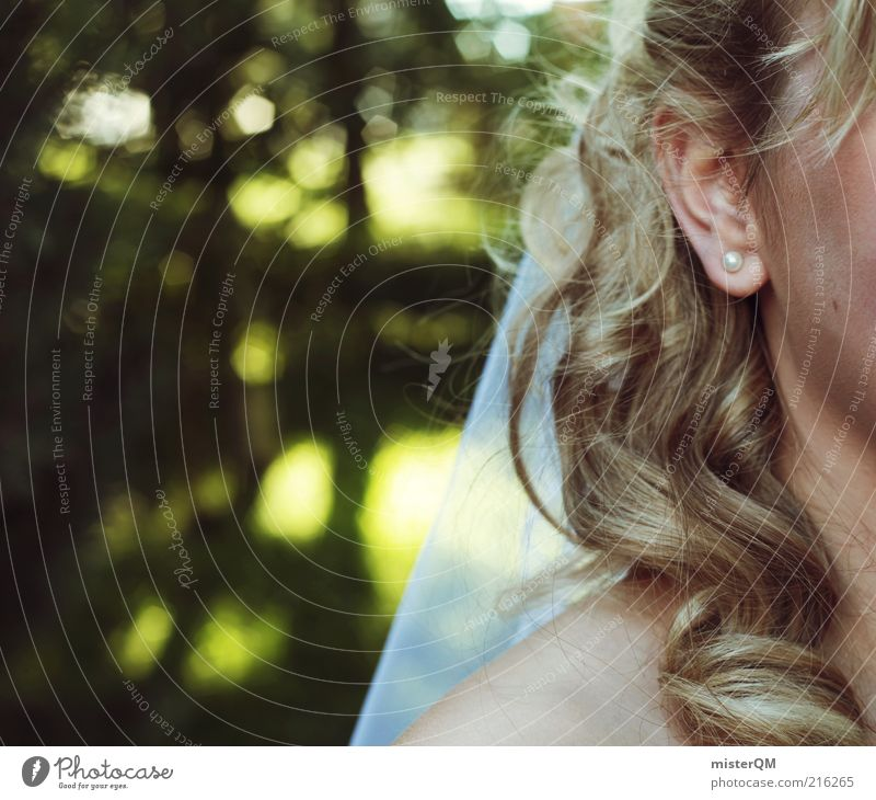 My Day. Lifestyle Esthetic Wedding Vail Bride Woman Hair and hairstyles Wedding dress Bridal veil Tradition White Ear Earring Curly Blur Future Matrimony Wife