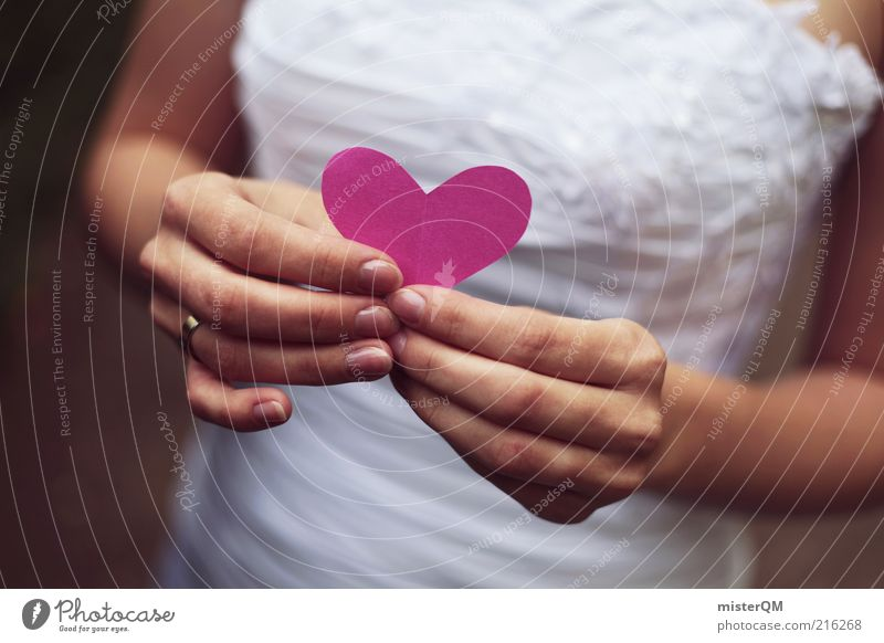 Hand White Love Emotions Happy Contentment Heart Pink Design Wedding Esthetic Dress Human being To hold on Event Creativity