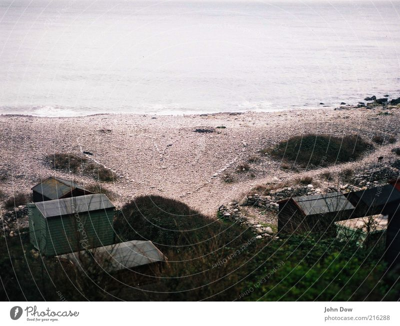 Beach Ocean Far-off places Freedom Happy Coast Stone Heart Trip Bushes Romance Transience Longing Creativity Hut Wanderlust
