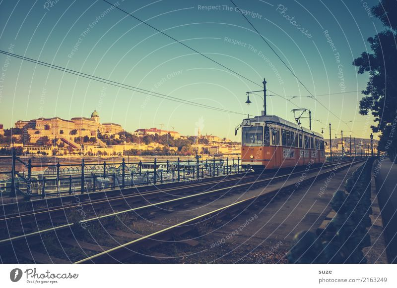 Number Two. Vacation & Travel Tourism Sightseeing City trip Culture River bank Town Capital city Outskirts Old town Architecture Means of transport