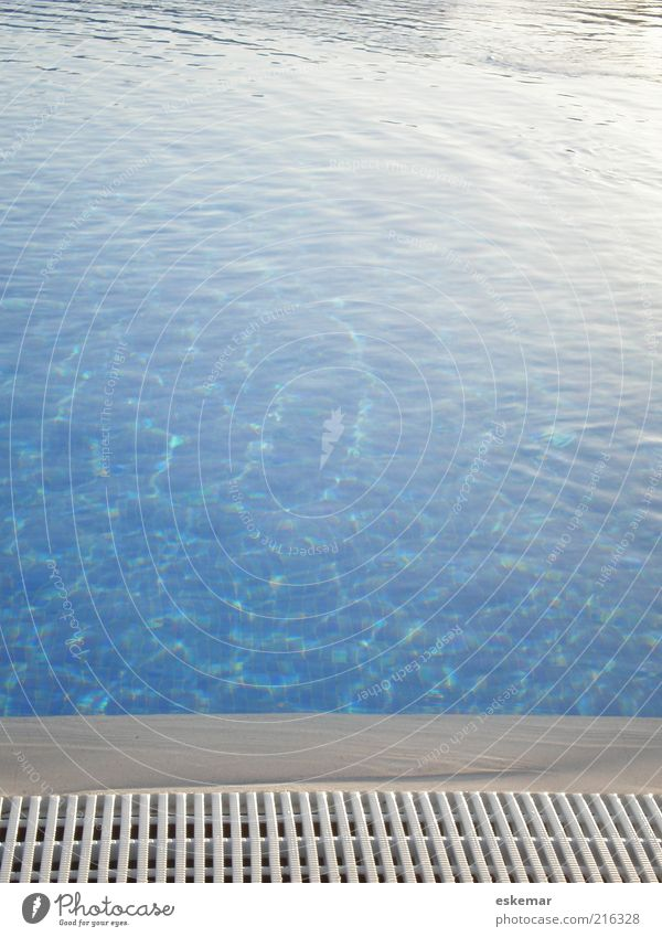 Water Blue Summer Vacation & Travel Calm Life Relaxation Wet Fresh Esthetic Wellness Swimming pool Leisure and hobbies Clean Pure