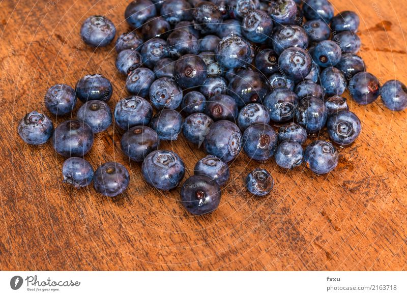 Blueberries on wood background Blueberry Delicious Fruit Healthy Healthy Eating Vitamin Food Nutrition Beautiful Sweet Dessert Berries Forest Violet Nature Wood