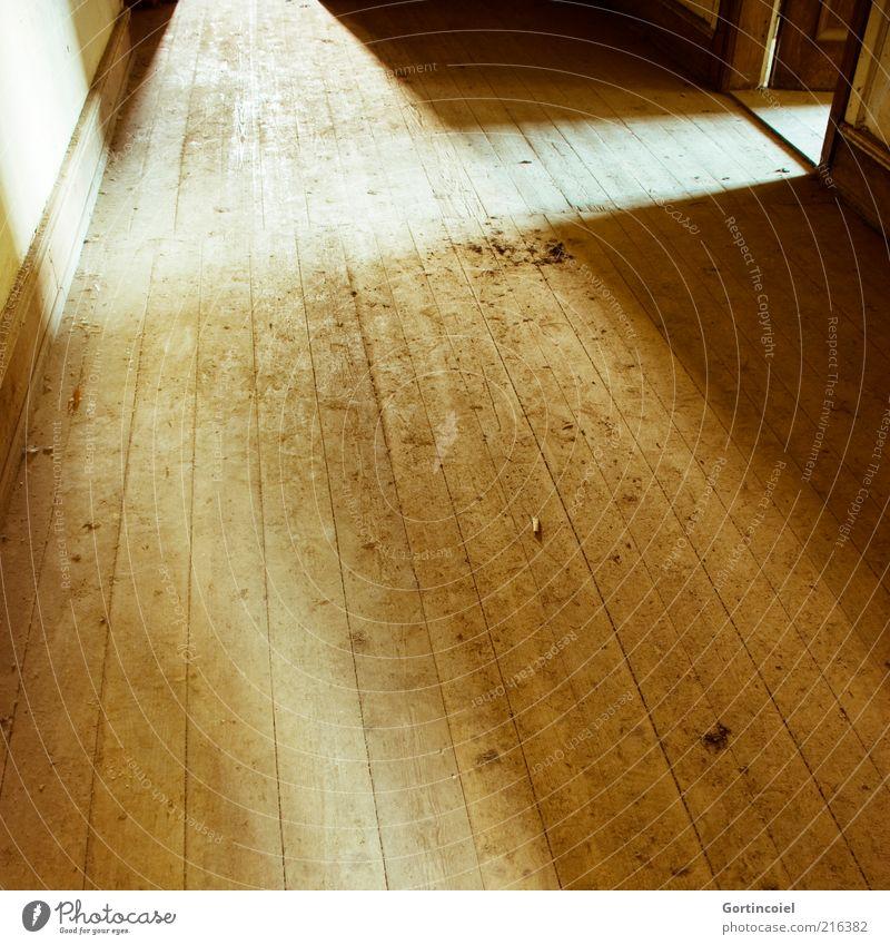 House (Residential Structure) Brown Bright Room Door Ground Hallway Wooden floor Shaft of light Building Flare Floorboards