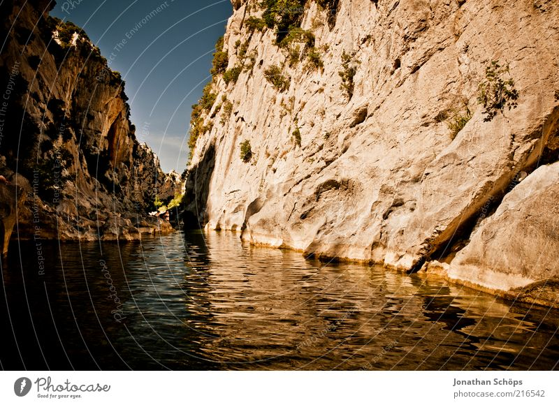 Nature Water Beautiful Blue Lake Landscape Brown Rock Europe Esthetic River Fantastic Exceptional France Considerable Narrow