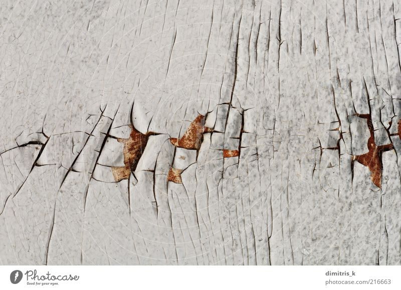 white peeling paint Old White Wood Background picture Material Crack & Rip & Tear Surface Set Grunge Flake off Rough Weathered Macro (Extreme close-up) Rust