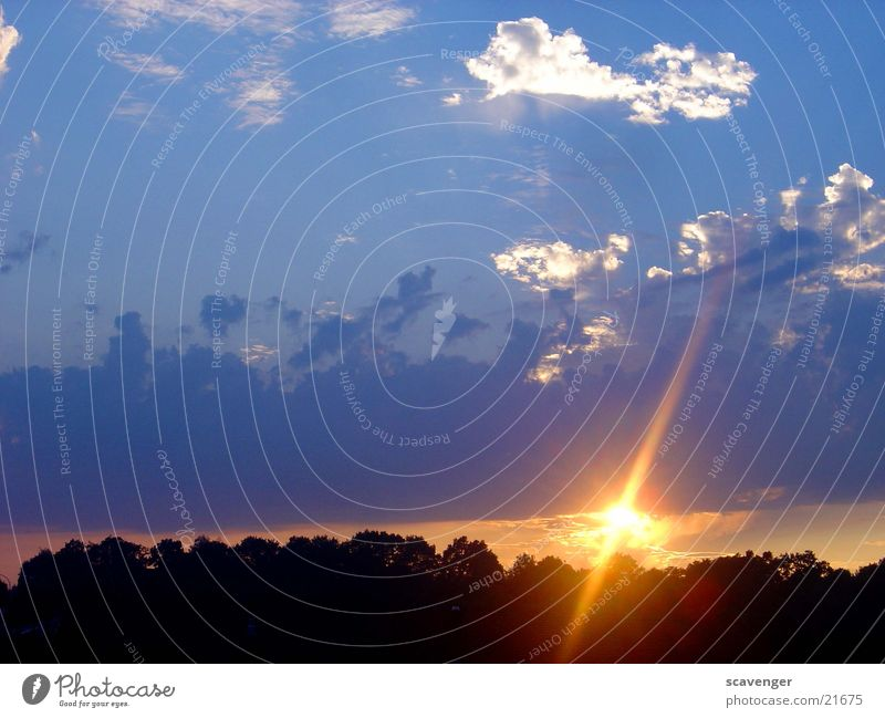event horizon 1 Evening Background picture Light Colour photo Sunrise Sunset Sunbeam Clouds Images of the heavens Deserted Red Hill Tree Black Dark
