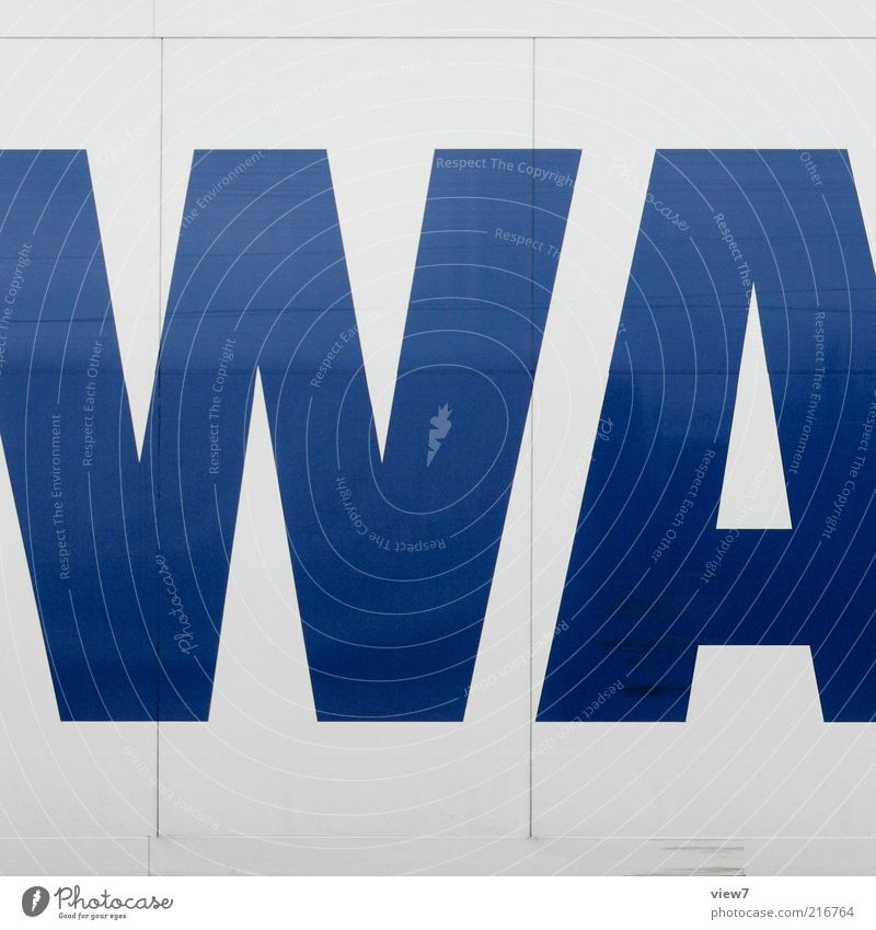 Blue Dark Above Metal Transport Modern Esthetic New Authentic Characters Simple Sign Truck Typography Positive Vehicle