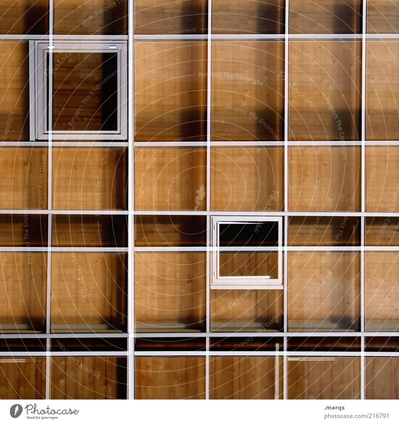 type case Style Design Facade Wood Metal Line Exceptional Whimsical Grid Window Double exposure Colour photo Pattern Structures and shapes Geometry Symmetry