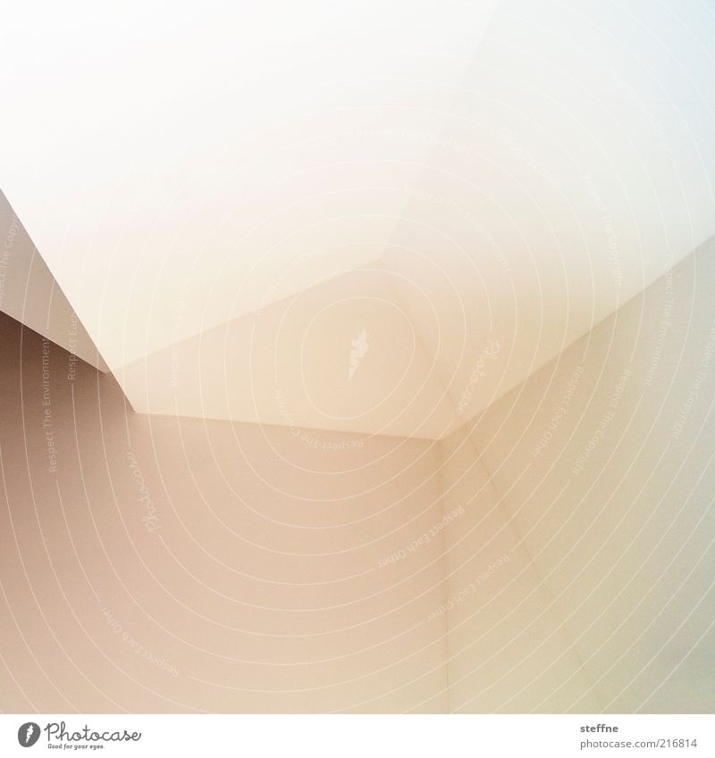 White House (Residential Structure) Line Bright Room Pink Modern Corner Abstract Double exposure Graphic Pattern