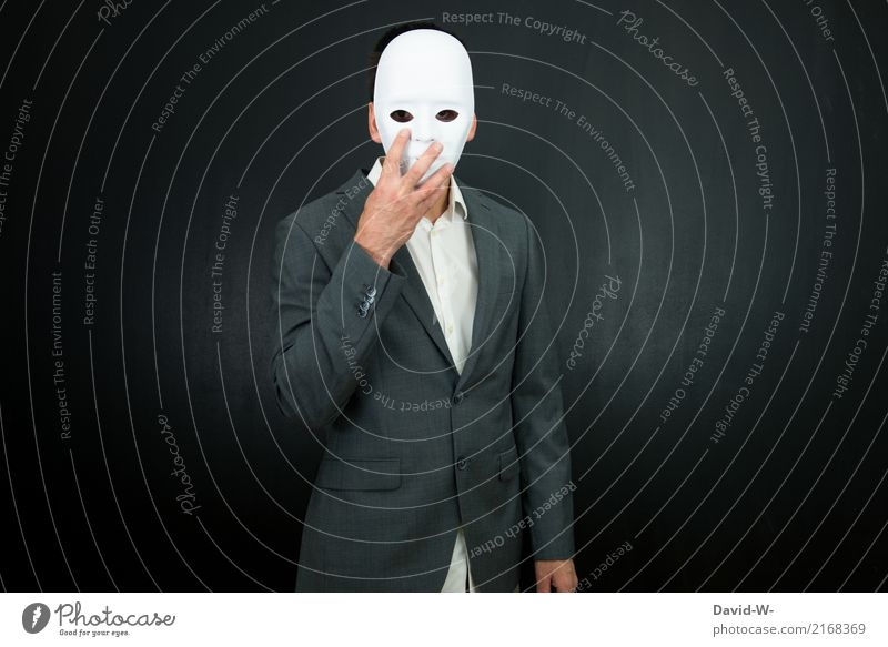masked ball Human being Masculine Woman Adults Life Head Art Artist Stage play Theatre Actor Suit Anonymous Hide mask sb./sth. Mask Masked ball Hallowe'en