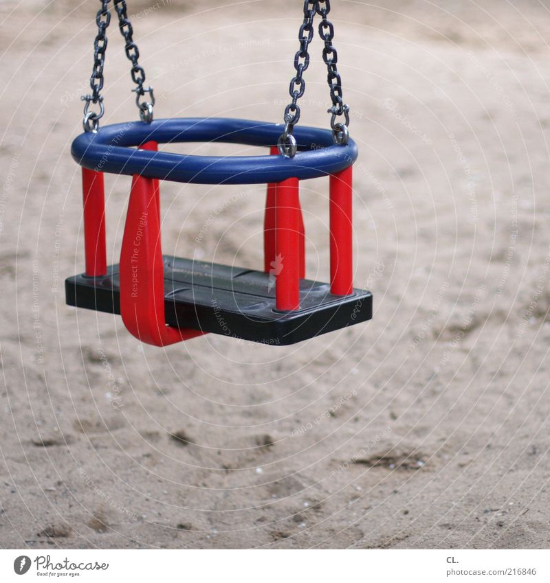 Blue Red Joy Calm Sand Infancy Safety Protection Toys Kindergarten Swing Playground Sandpit