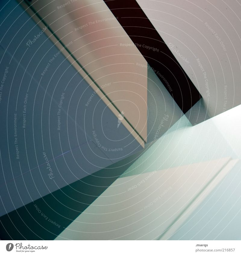 Beautiful Style Line Architecture Background picture Design Perspective Modern Corner Interior design Geometry Abstract Graphic Symmetry Partially visible