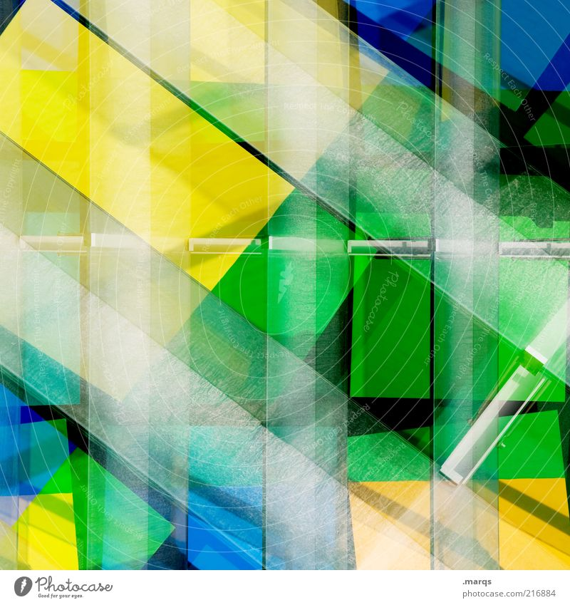 Green Blue Yellow Colour Style Background picture Design Crazy Lifestyle Perspective Modern Cool (slang) Uniqueness Exceptional Illuminate
