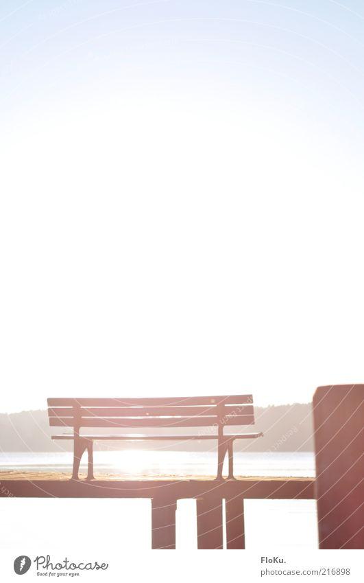Nature Water White Blue Beautiful Sun Landscape Environment Warmth Coast Lake Park Free Break Bench Illuminate