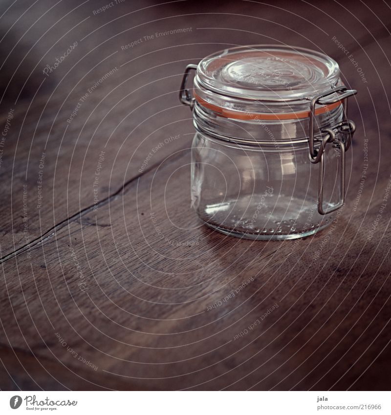 Wood Brown Glass Empty Rubber Wood grain Containers and vessels Preserving jar