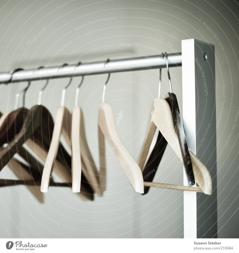 Wood Metal Hang Arrange Hang up Checkmark Hanger Detail Hallstand