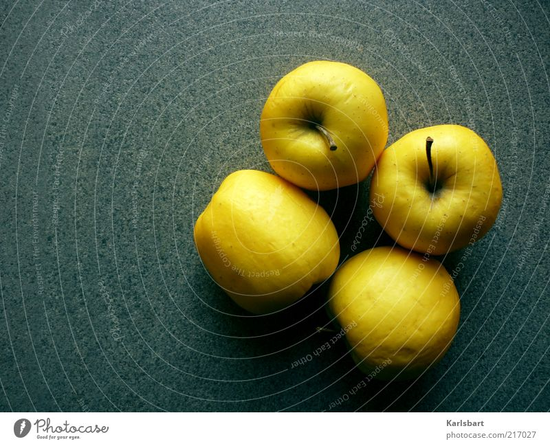 4apples Food Fruit Apple Nutrition Organic produce Vegetarian diet Diet Healthy Stone Fresh Yellow Colour Colour photo Multicoloured Interior shot Deserted