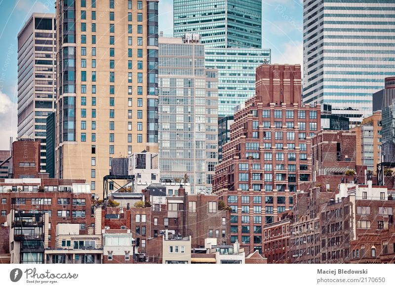 Architecture of Manhattan Lifestyle Luxury Sightseeing City trip Summer Flat (apartment) House (Residential Structure) Office Town High-rise Bank building