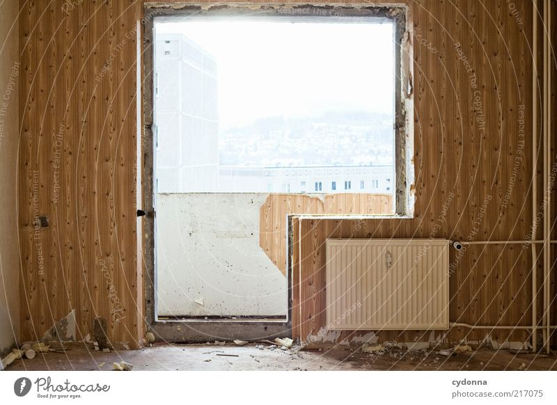 Calm Far-off places Life Cold Wall (building) Style Window Dream Wall (barrier) Door Time Lifestyle Esthetic Change Kitsch Living or residing