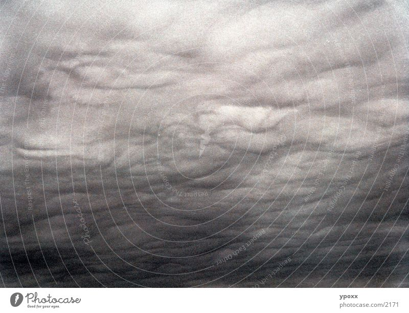 weather phenomena Clouds Storm Gray Eerie Cloud cover Sky Weather Rain